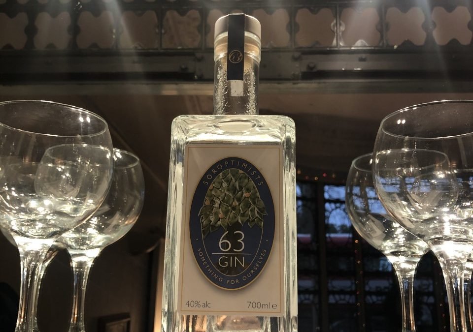 Number 63's own Gin – pre order now!